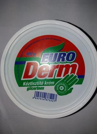 Паста для мытья рук Euro Derm 500 мл Венгрия