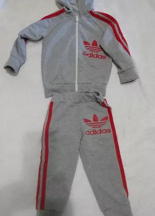 Костюм для девочки спортивный Adidas