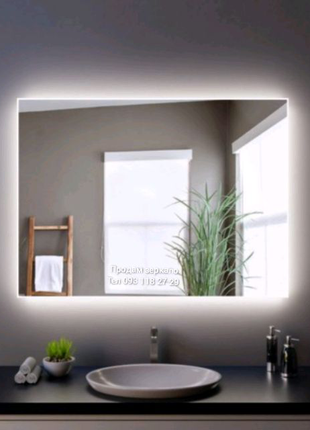 Зеркало с фоновой подсветкой (60 см х 80 см)