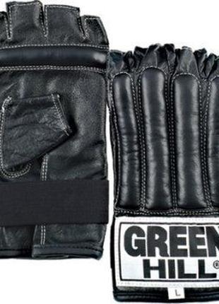 Снарядные перчатки(шингарты)кожаGREEN HILL размерыL/XL красный...