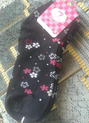 Женские короткие носки, бамбук