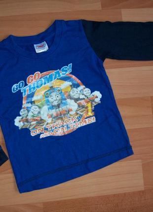Лонгслив, футболка с длинным рукавом thomas & friends 3-4 года