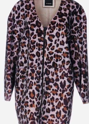 Pinko оригинал стоило 400€ абсолютно новое пальто плащ велюр-в...