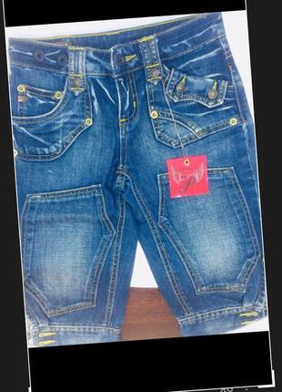 Phard италия новые джинсы брюки бриджи на 4-5 лет