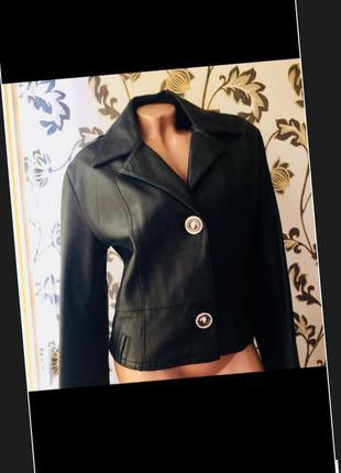 Италия кожаная куртка пиджак жакет