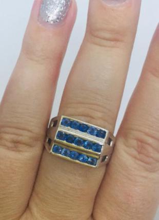 Итальянское новое красивое серебряное кольцо