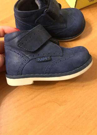 Продам детские ортопедические ботинки Djoy