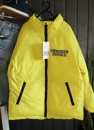 Новая двусторонняя куртка zara