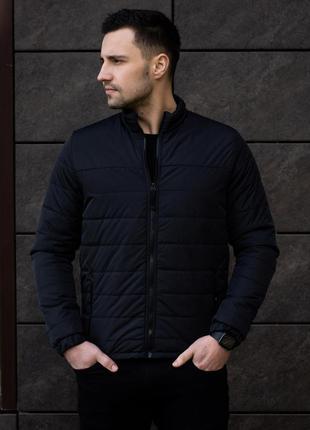 Черная ветровка мужская черная куртка демисезонная весна/осень...