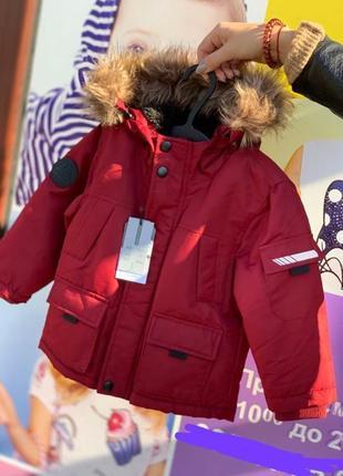 Куртка парка примарк на мальчика, куртка примарк (6-36мес )