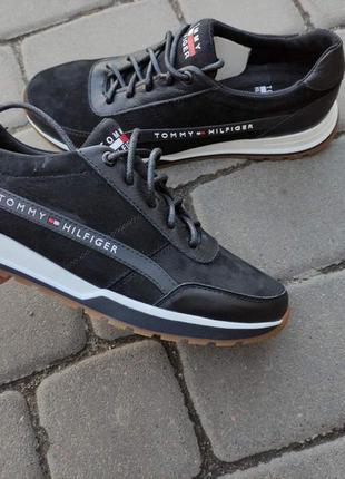 Кожаные замшевые мужские кроссовки р.41-43 наложенный платеж