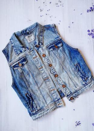 Джинсова жилетка💙 джинсовая жилетка