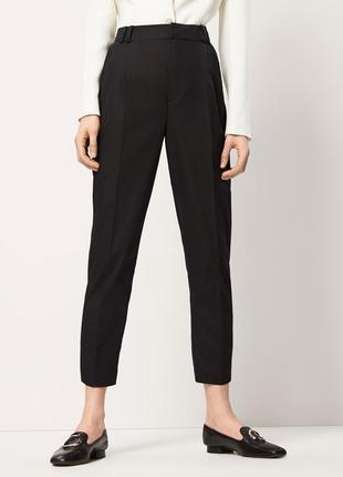 Черные классические брюки massimo dutti