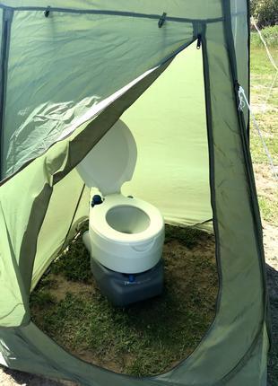 Аренда портативного биотуалета Одесса с палаткой