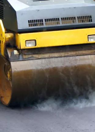 Асфальтирование, укладка асфальта, дорожные работы, ремонт дорог