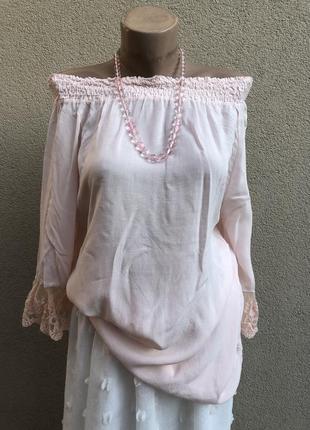 Розовая блуза,рубаха,реглан,кружево,вискоза,этно,бохо стиль,