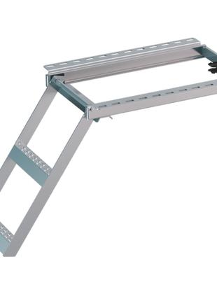 Лестница для фургона 2 ступеньки Takler ТК8615, 572,5*400 мм цинк