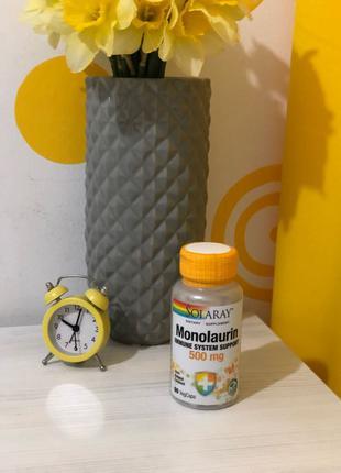 Монолаурин для иммунитета