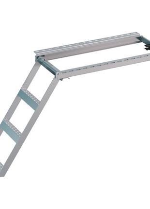 Лестница для фургона 3 ступеньки Takler, 750*400 мм (цинк) Италия