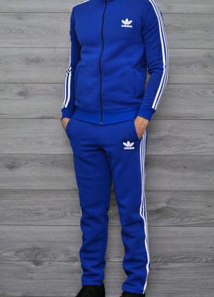 Спортивный костюм Адидас с полосками мужской С М 46 48