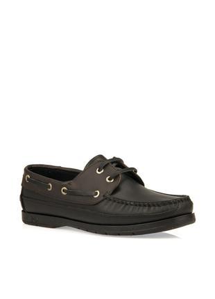 Кожаные мужские туфли от бренда dexter. Число 40. ароматизированн