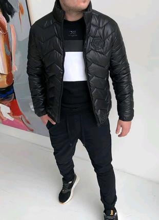 Куртка - Бомбер весна лето.   Philipp Plein