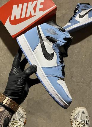 Nike air jordan 1 og university blue