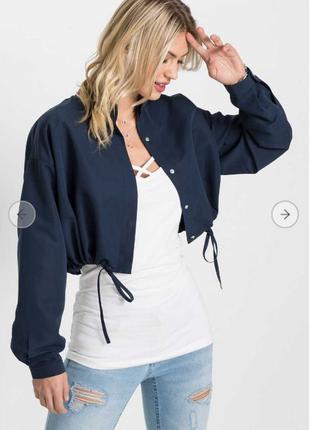 Куртка женская Бонприкс bonprix косуха бомбер ветровка пиджак