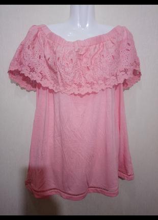 🌺 🌿 🍃 блуза батал /натуральная ткань 🌺 🌿 🍃