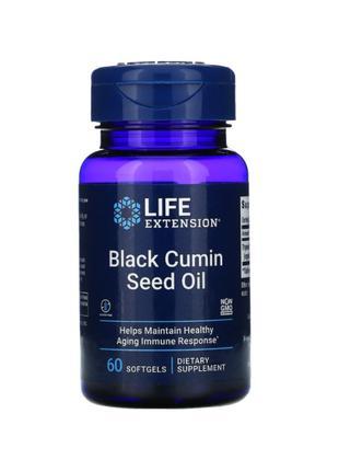 Life Extension, Масло семян черного тмина, 60 мягких капсул