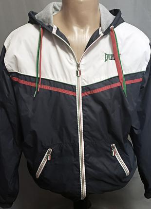 Куртка ветровка Everlast р.L Original мужская, унисекс, женская
