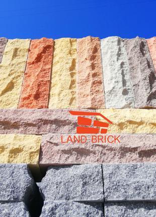 Облицовочный рваный кирпич скала LAND BRICK