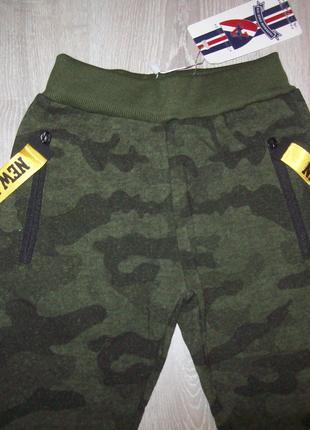 Спортивные штаны с начесом 116,128, 140  Венгрия