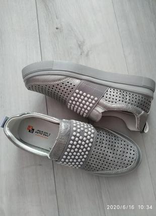 Мокасины туфли для девочек