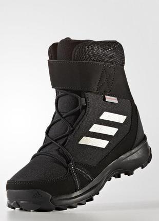 Детские зимние сапоги adidas terrex snow cf cp cw(артикул:s80885)