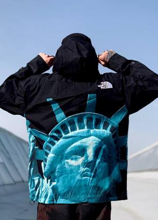 Ветровка tnf x supreme america