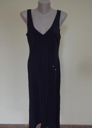 Очень шикарное платье классика натуральный шелк 100%