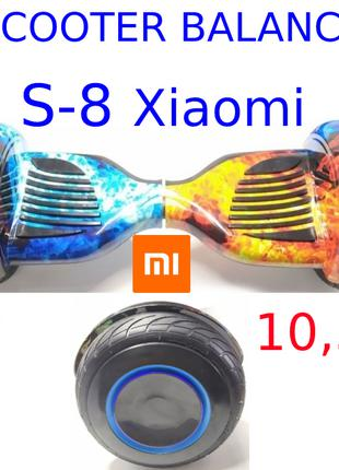 Гірocкутер 10,5 дюймів S-8 Pro led Xiaomi mini segway smart scoot