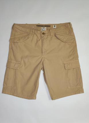 Esprit коттоновые шорты с накладными карманами