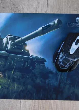 Коврик для мыши world of tanks (25 х 30 см)