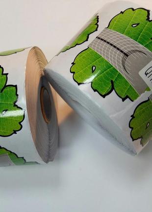 """Формы для наращивания ногтей  """"зеленый лист"""" широкие,"""