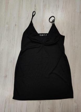 Ликвидация товара 🔥   платье на бретельках подклад черный