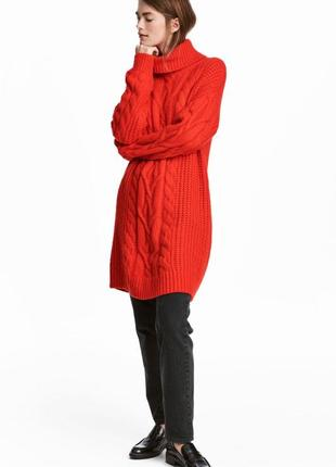 Платье-свитер  шерсть от h&m премиум! все размеры! последняя к...