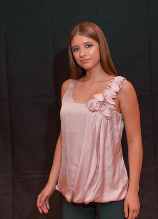 #розвантажуюсь блуза сатин прованская роза весна лето h&m шика...