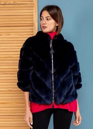 Шуба куртка шиншилла бомбер кимоно автоледи италия коллекция з...