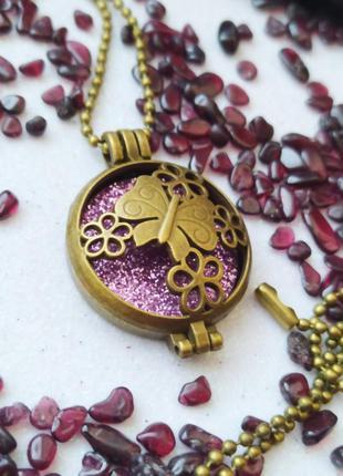 Аромакулон бабочка оригинальный подарок на день святого валентина