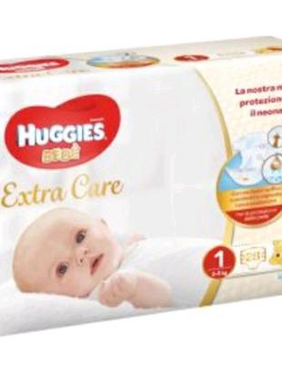 Подгузники підгузки Huggies extra care