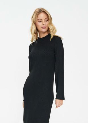 Мега стильное ассиметричное теплое платье балахон