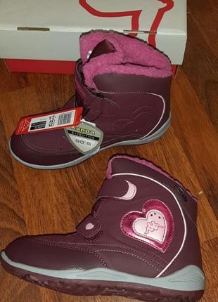 Зимние ботинки карра