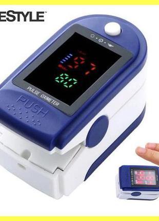 ОРИГИНАЛ!Пульсометр измеритель кислорода, измерение сатурацию